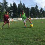 Sviluppo dei principi di gioco nell'attività di base: giochiamo in avanti
